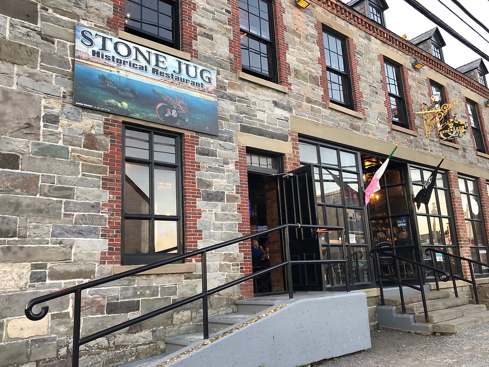 the stone jug restaurant in harbour grace Newfoundland