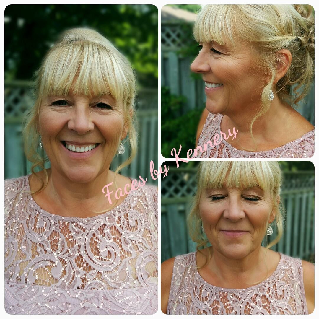 mother of bride makeup kitchener