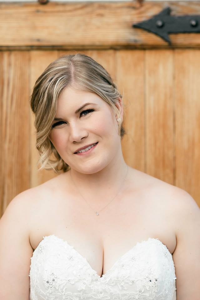 bridal client - photography by Melissa Photography & Design