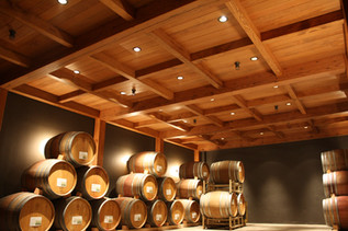 Willamette Valley Vineyards Barrel Room. Design by Nathan Good Architects
