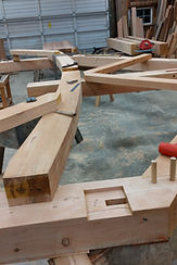 Scribing in the shop, joinery