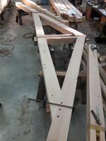 Fitting a truss