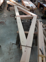 Fitting a truss
