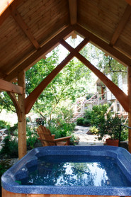 Hot tub shelter, Salem, OR.