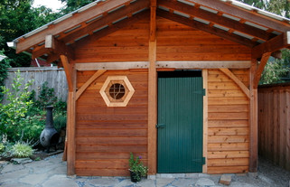 Garden shed/ sitting room, Silverton, OR