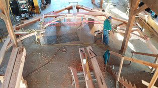Hammer beam bent with Confluence Design and Construction