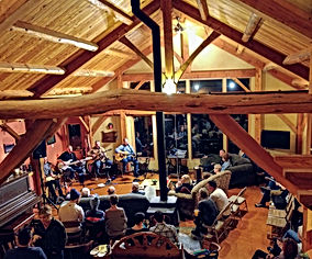 house concert in great room