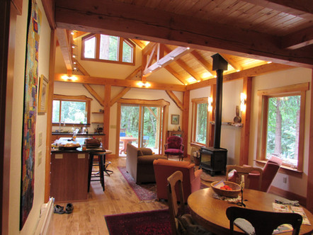 Cabin in Alsea, OR with Confluence Design and Construction