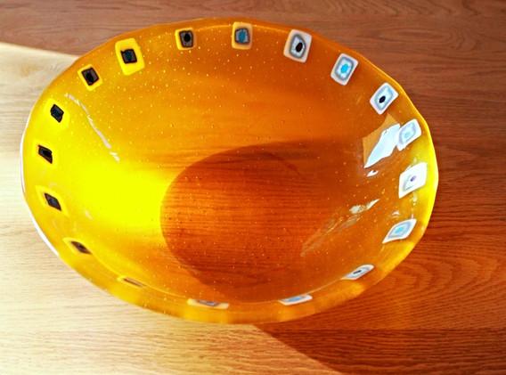 Tangerine 16 inch bowl