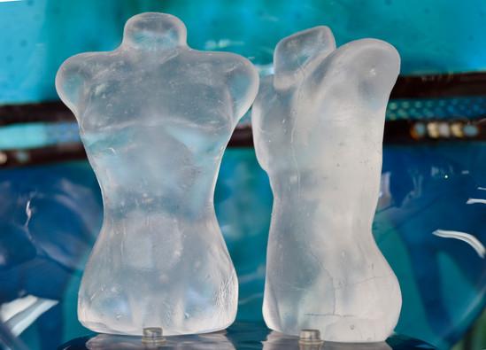 Cast Glass Torsos