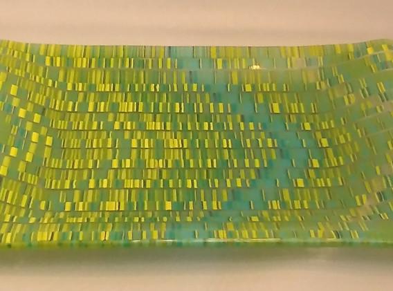 Tapestry Seafoam Platter