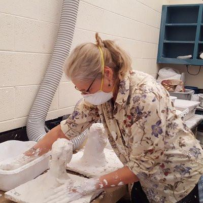 Laura plaster mold making.jpg