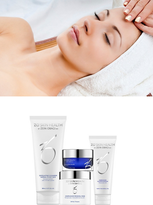 Detox Facial + ZO Complexion Clearing Kit