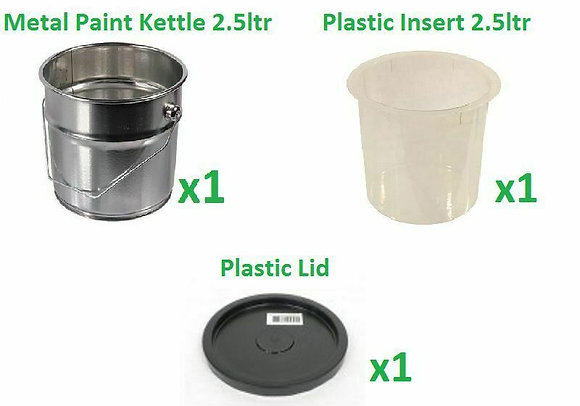 Paint Kettle with Liner and Lid