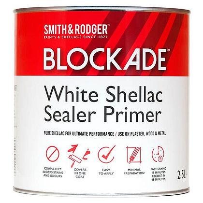 Blockade White Shellac Sealer Primer White 2.5L