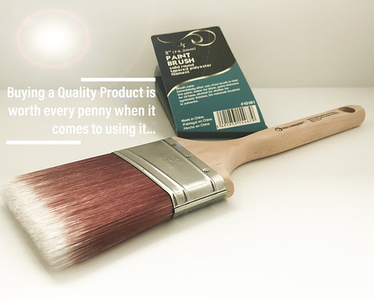 """3""""Angular Paint Brush"""