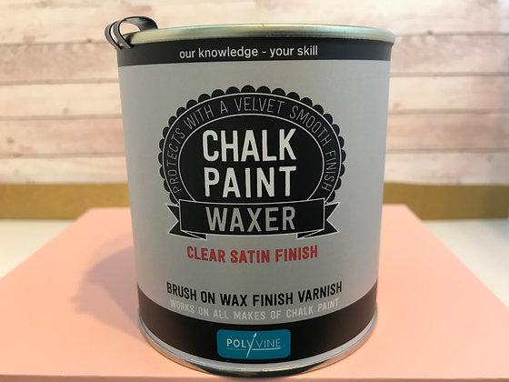 Polyvine Chalk Paint Waxer Clear Satin Finish 500ml
