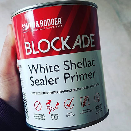BLOCKADE White Shellac Sealer 1L