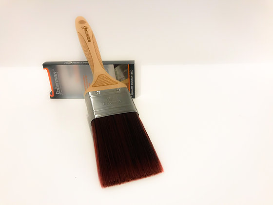 "DOBERMAN™ 2"" Laser Engraved Handle Paint Brush"