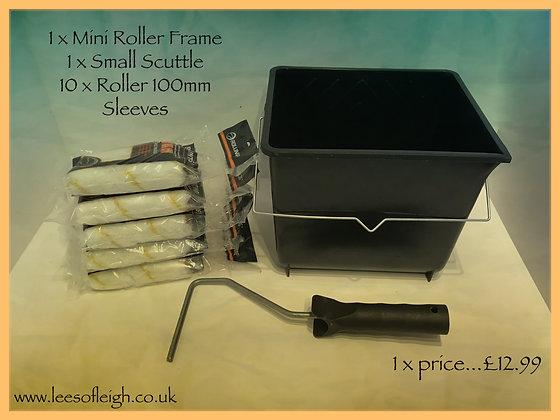 Mini Roller Scuttle Set