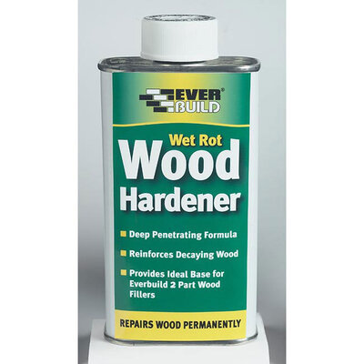 Wet Rot Wood Hardener, 250ml