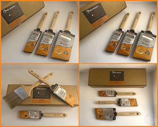 BOX Set of 3 Angular Brushes