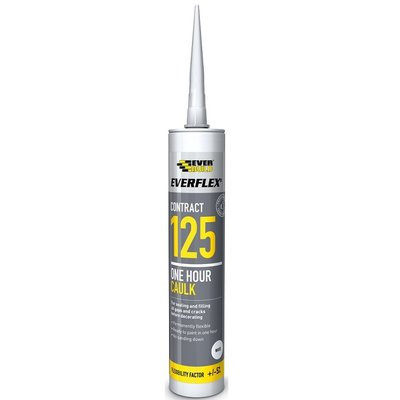 125 One Hour Caulk White C3 Cartridge