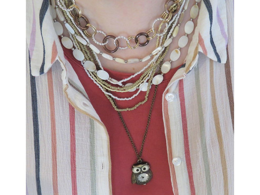 3 Layered Necklaces: Animal Pendant Edition