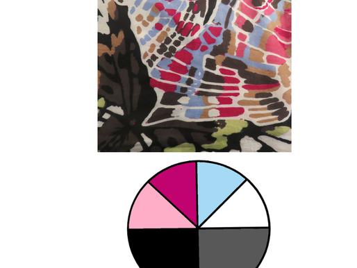 6 Scarves 2021: The Color Palettes, Part 1