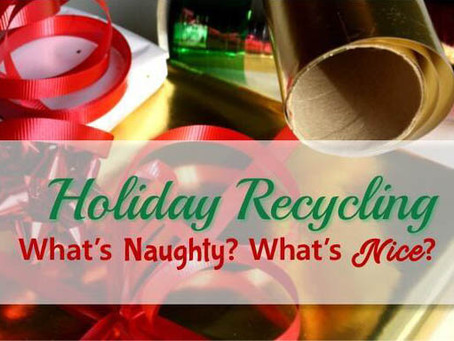 Holiday Recycling: Know What's Naughty and What's Nice!