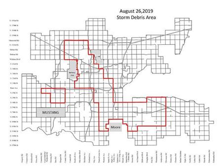 City of OKC Storm debris pick-up to begin September 3