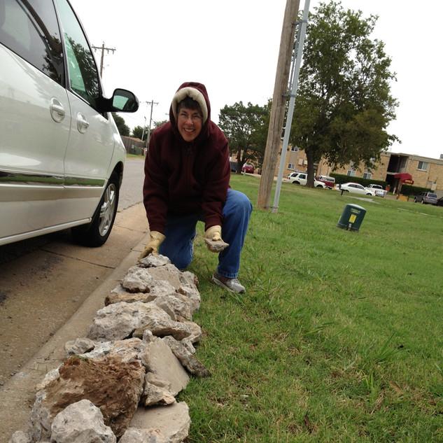 IMG_3667-We used scrap concrete chunks t