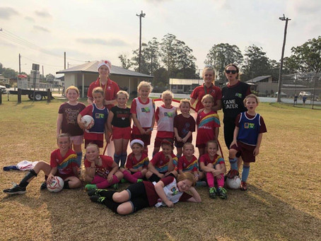 Final MiniRoos for Girls Session