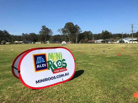 ALDI MiniRoos For Girls Has Kicked Off