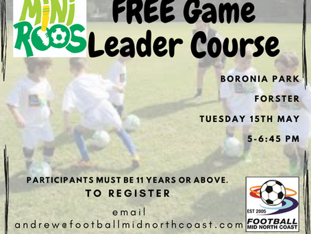 Free Game Leader Course
