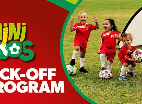 MiniRoos Kick-Off for Girls 4 to 9 years Starts October