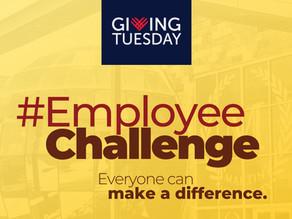 #GivingTuesdayWORKS #Employee Challenge