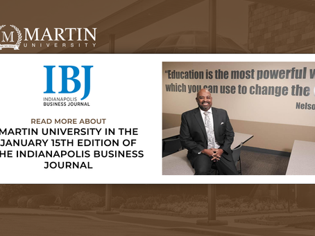 Martin University featured in Indianapolis Business Journal