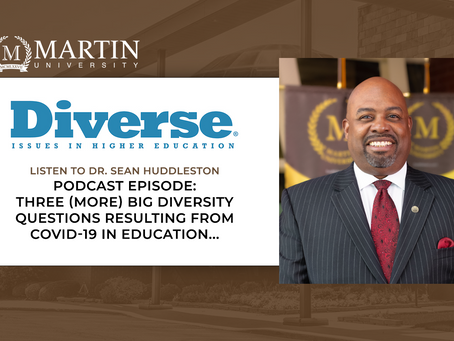 Dr. Sean Huddleston selected as panelist to discuss COVID-19 Diversity Questions