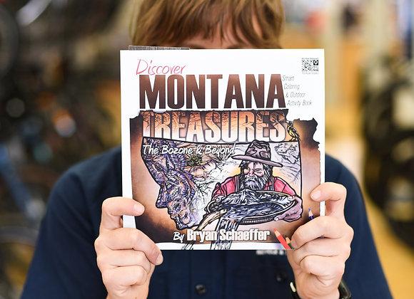 Montana Treasures Coloring Book