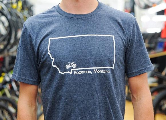 Bangtail T-Shirt Navy