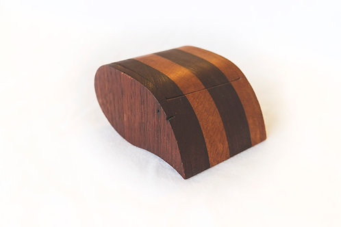 Tear drop treasure box (Red Cedar + Silky Oak)