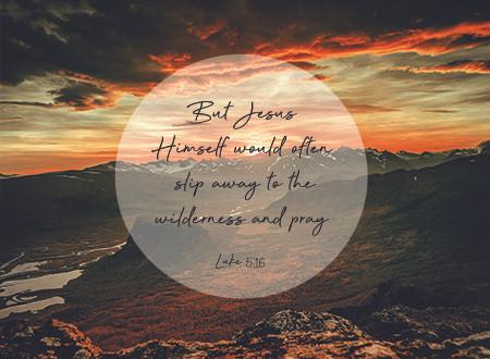 Word of Encouragement: Discipline in the Wilderness