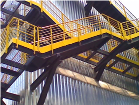 Escada Precipitador Eletrostático