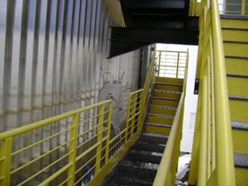 Escadas Precipitador Eletrostático