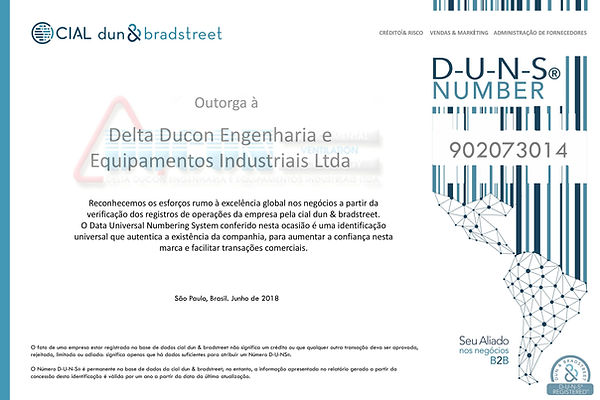 Certificado DUNS