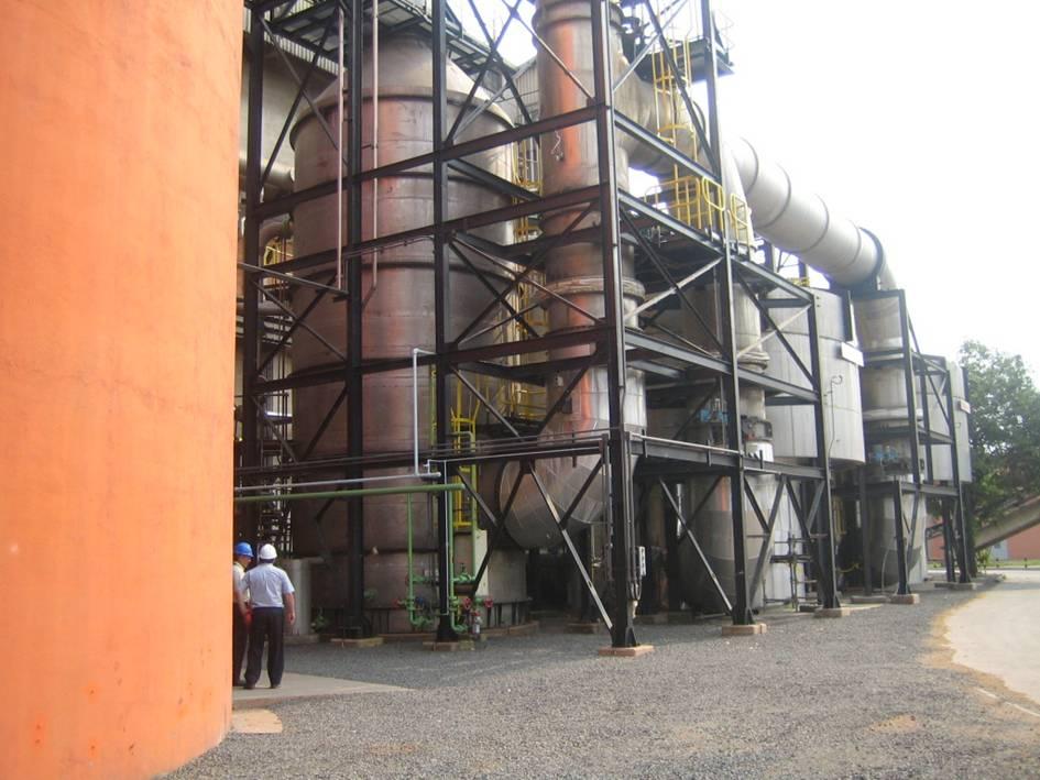 Sistema de Lavagem de Gases Completo