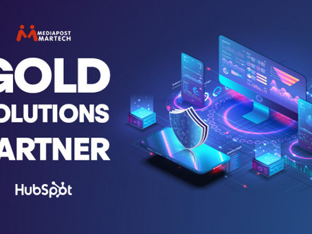 We are now HubSpot Gold Partner