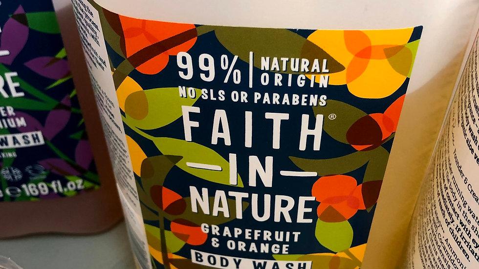 Faith in Nature Body wash 500ml
