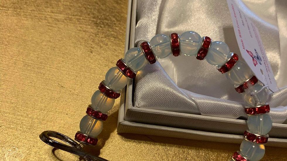 Opalite love bracelet